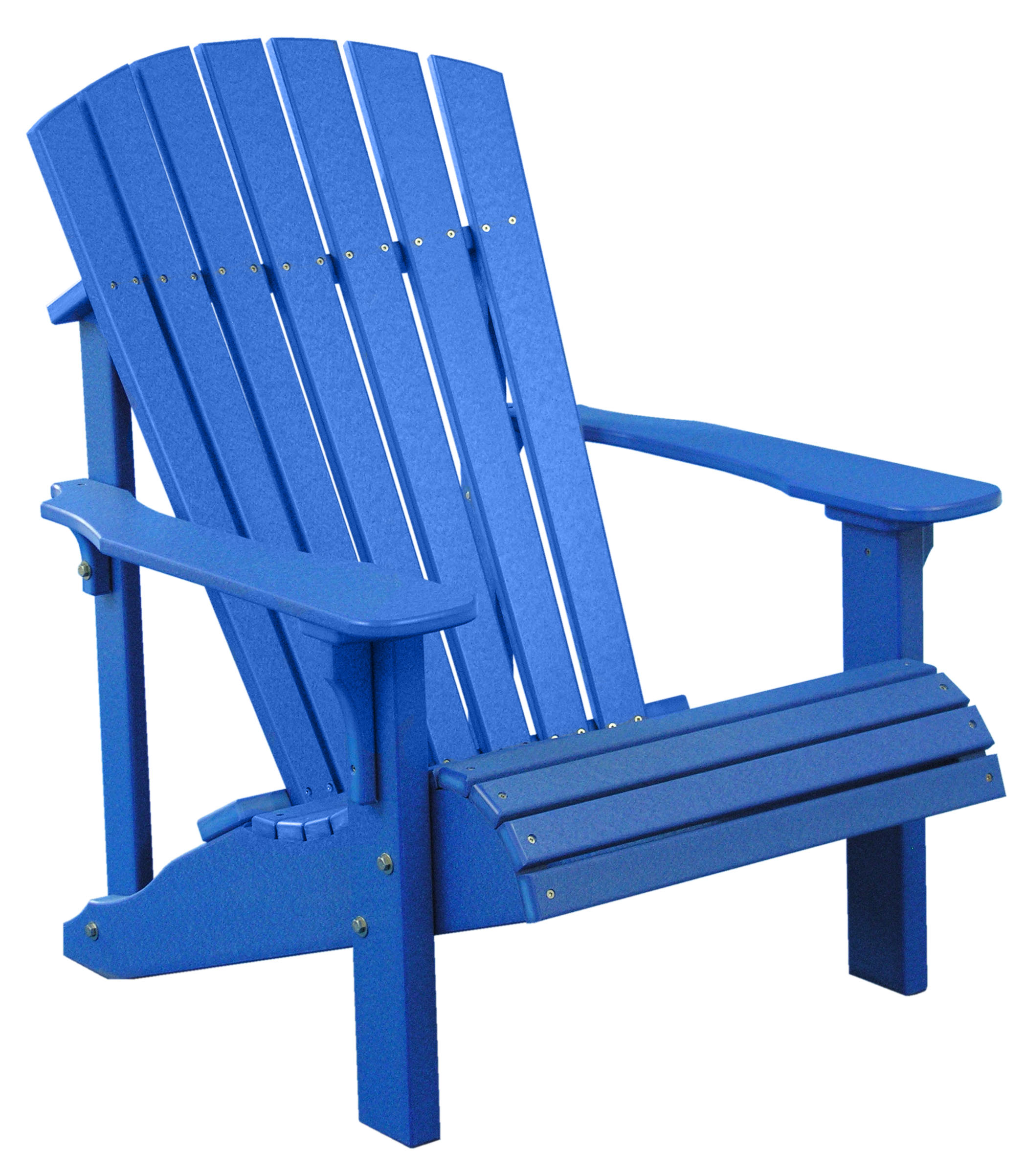 Deluxe Adirondack Chair All Blue – Tri State Outdoor Products LLC